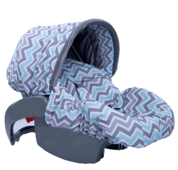 Peek a Blue Infant Car Seat Cover