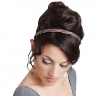 EDIE METALLIC TWIST HEADBAND