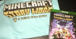 Xbox 1 Minecraft Story Mode
