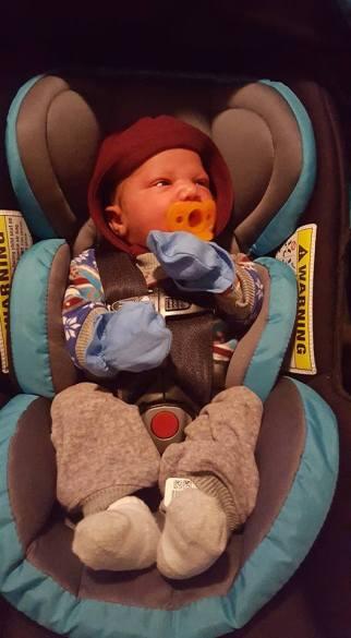 Karter at a week old