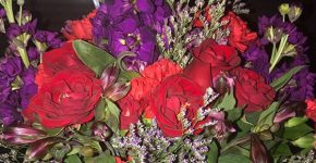 Teleflora's Shining Heart Bouquet ~ Valentines Day
