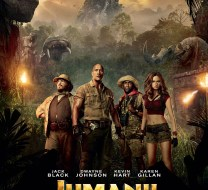 Jumanji 2017 movie poster