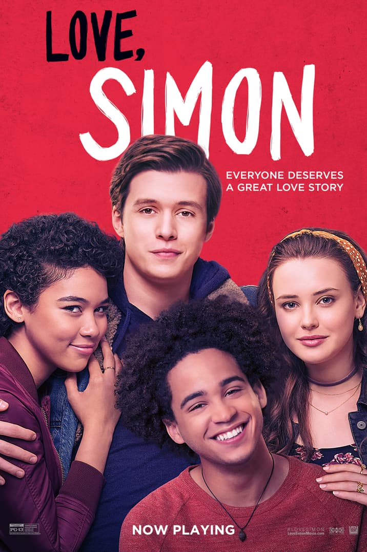 Image result for love, simon movie poster
