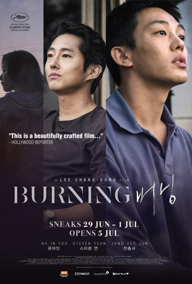BURNING Korean Movie Poster