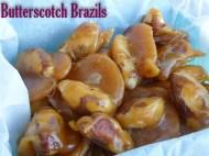 pile of butterscotch brazil nuts