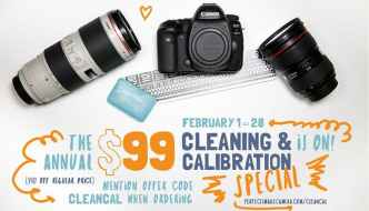 Best Time To Clean And Calibrate Your Cameras And Lenses