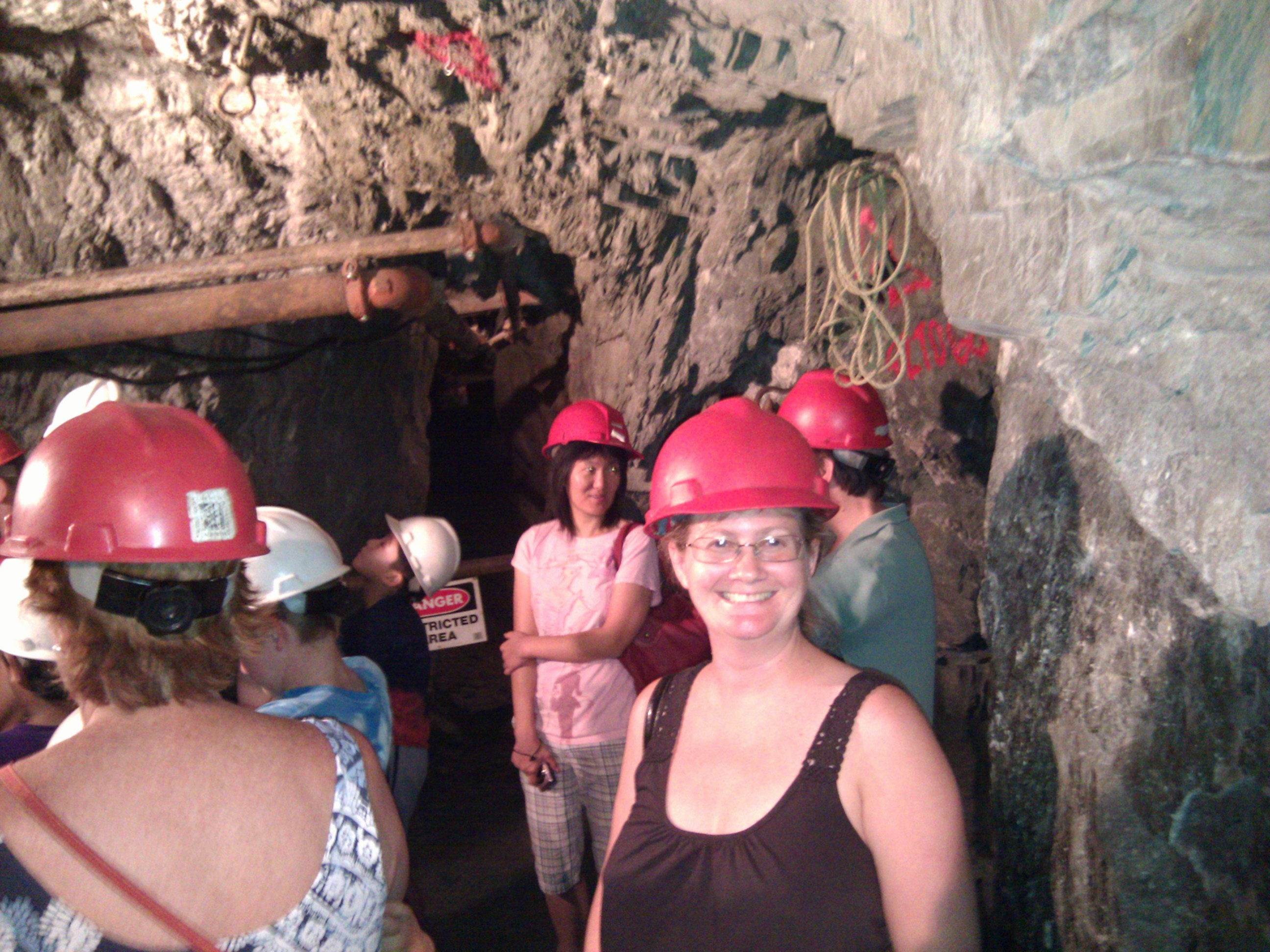 Tiffany Turner on the Sutter Gold Mine Tour