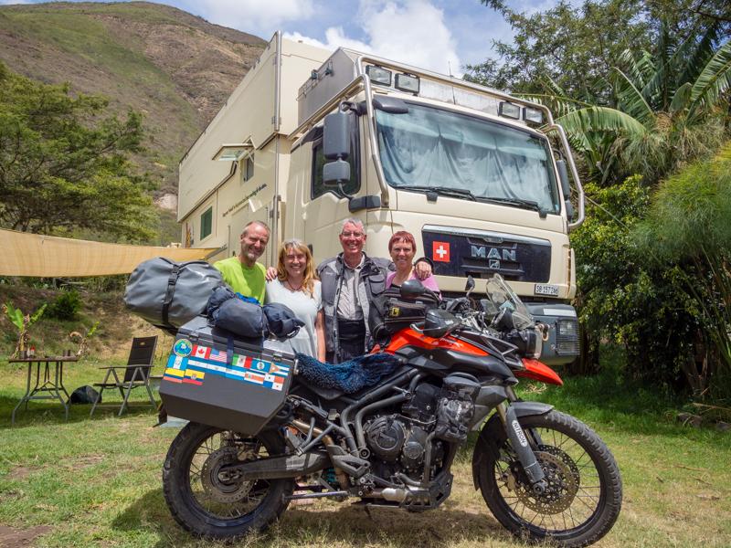 Ecuador Sommerwind Triumph Tiger 800XC RTW motorcycle adventure
