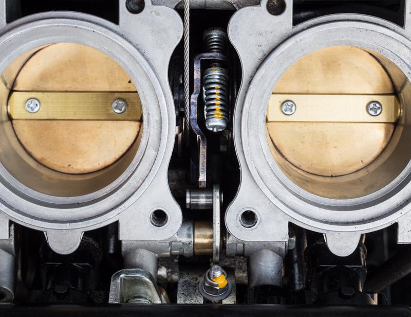 Stepper Motor Failure - Two Brits and a Triumph Tiger 800