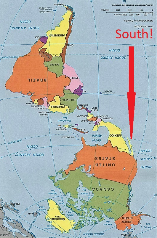Is This Map Upside Down? Colombia - Two Brits and a Triumph Tiger ...