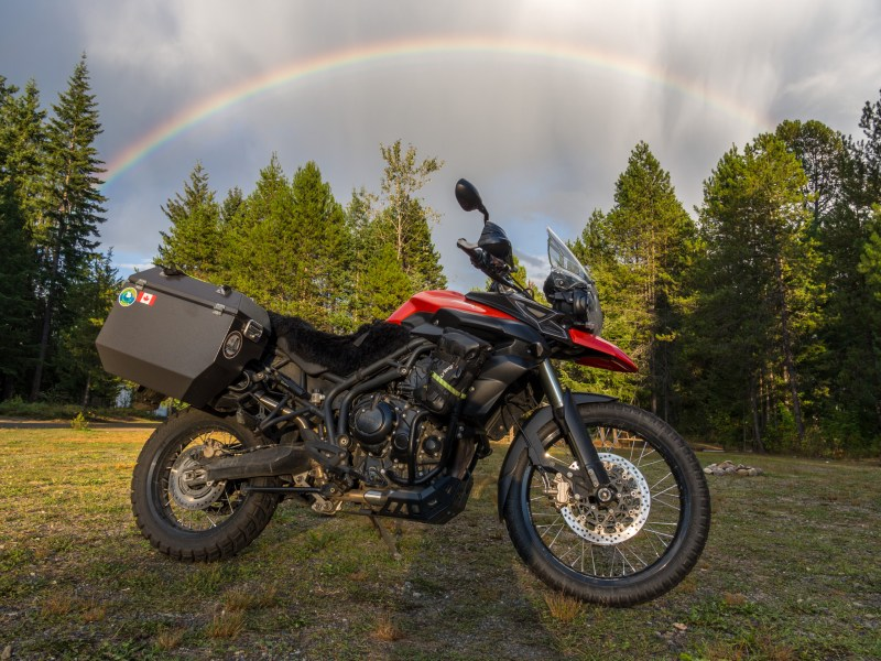 Bike And Kit Two Brits And A Triumph Tiger 800 Round The World