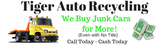 licensed junk car buyer no title, chicago Tiger Auto Recycling Inc.
