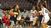 HOUSTON – The Texas Southern Lady Tigers won their twelfth straight game capturing a 63-59 win over Arkansas-Pine Bluff at H&PE Arena. It was a total team effort as Kayla […]