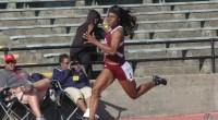 """Tiffany Heard led the """"Flying"""" Tigers with her first place finish in the 100m hurdles (13.92). Read more here: TSUBall.com"""