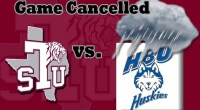 Texas Southern vs Houston Baptist baseball game for Tuesday, as been cancelled. …read more Read more here: TSUBall.com