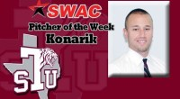 Texas Southern's Devin Konarik was named Southwestern Athletic Conference (SWAC) baseball pitcher of the week. …read more Read more here: TSUBall.com