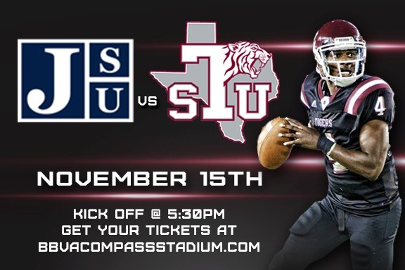 Jackson State Tigers at Texas Southern Tigers Football LIVE STREAM