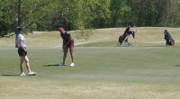 The Texas Southern Lady Tigers golf team finished in second place with a two day total of 665 (+89) at the 2018 SWAC Championships Courtesy: TSUSports.com