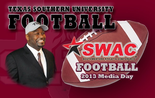 Texas Southern Prepares for SWAC Football Media Day