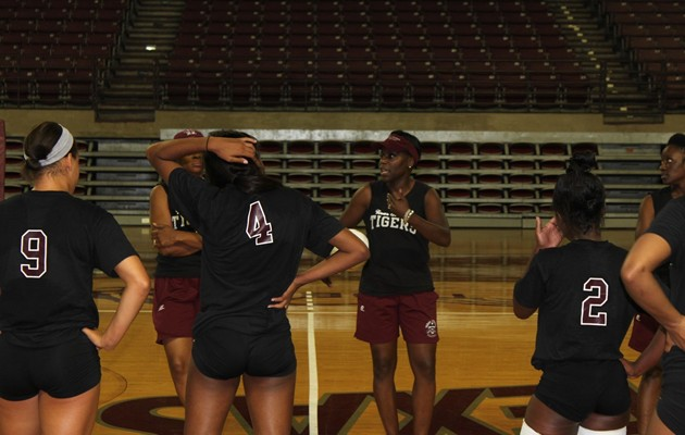 Lady Tigers Volleyball set to wrap up first full week of training camp