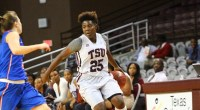 Texas Southern University fell to No. 8 Maryland 100-59 on Friday …read more Read more here: TSUBall.com Related posts: Lady Tigers lose 80-79 overtime decision to UMKC Lady Tigers lose […]