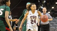 Jazzmin Parker scored 24 points and tallied eight rebounds to help lift Texas Southern over Mississippi Valley State 65-55 Saturday night at H&PE Arena …read more Read more here: TSUBall.com […]