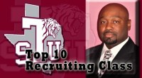 Texas Southern's 2014 Recruiting Class ranked 9th in among HBCU FCS programs. …read more Read more here: TSUBall.com Related posts: Tigers Football Recruiting Class Cracks Top 10 List 19 New […]