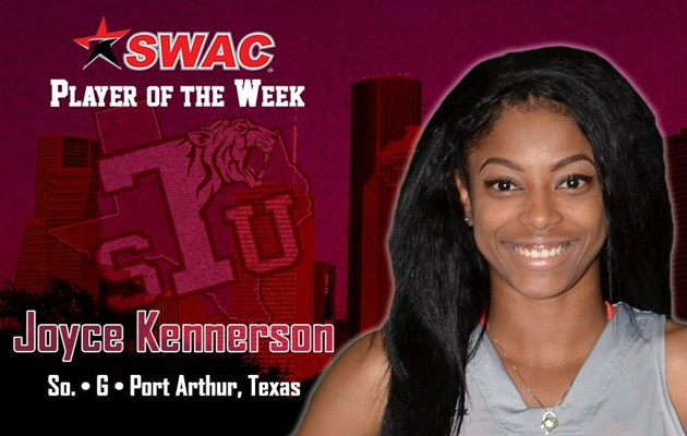 Kennerson named SWAC Women's  Basketball Player of the Week