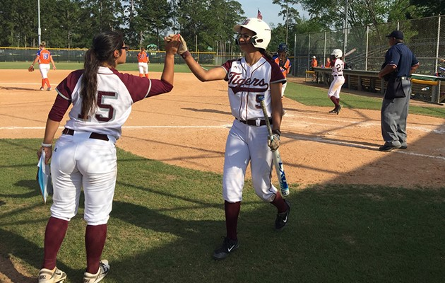 Lady Tigers rally late but fall short against HBU