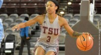 Kennerson scores 32 points, surpasses 1,200 career points; TSU hosts Prairie View A&M on Saturday. …read more Related posts: Lady Tigers Basketball Rolls Past Alabama State on the Road for […]