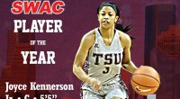 Texas Southern guard Joyce Kennerson has been named the Southwestern Athletic Conference Women's Basketball Player of the Year …read more Related posts: Kennerson BOXTOROW National Player of the Week Extended […]