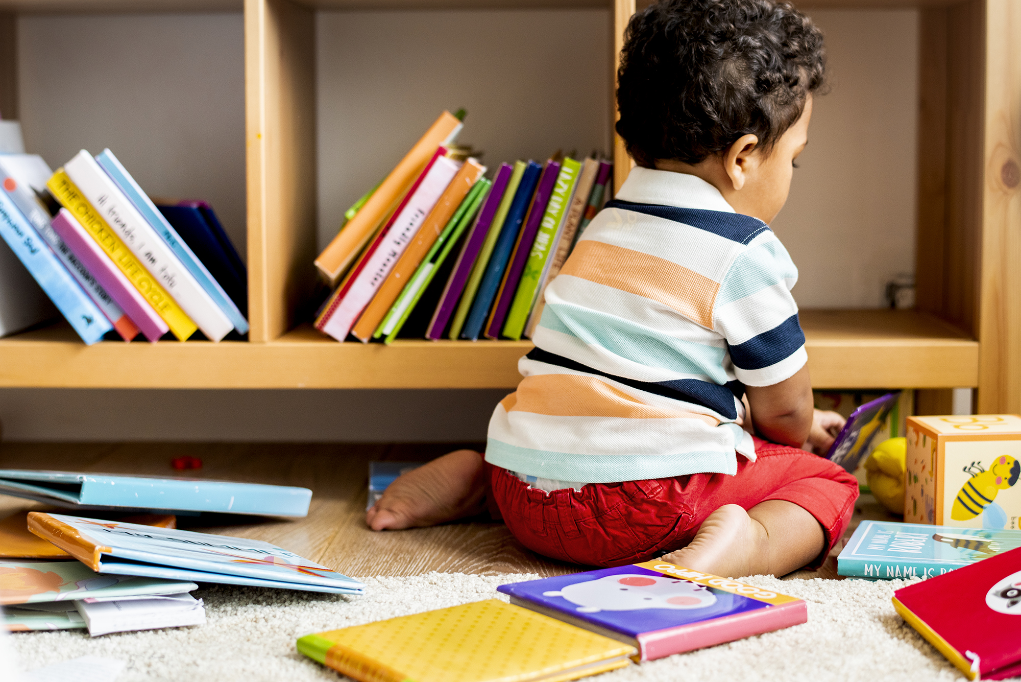 How many books should I read to my toddler a day?
