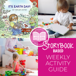 It's Earth Day storybook based activities for toddlers and preschoolers