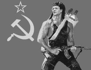 Mikhail Gorbachev, ready to rock