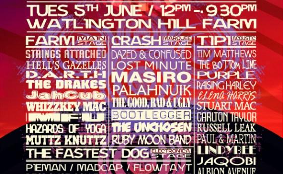 The Beacon Festival poster