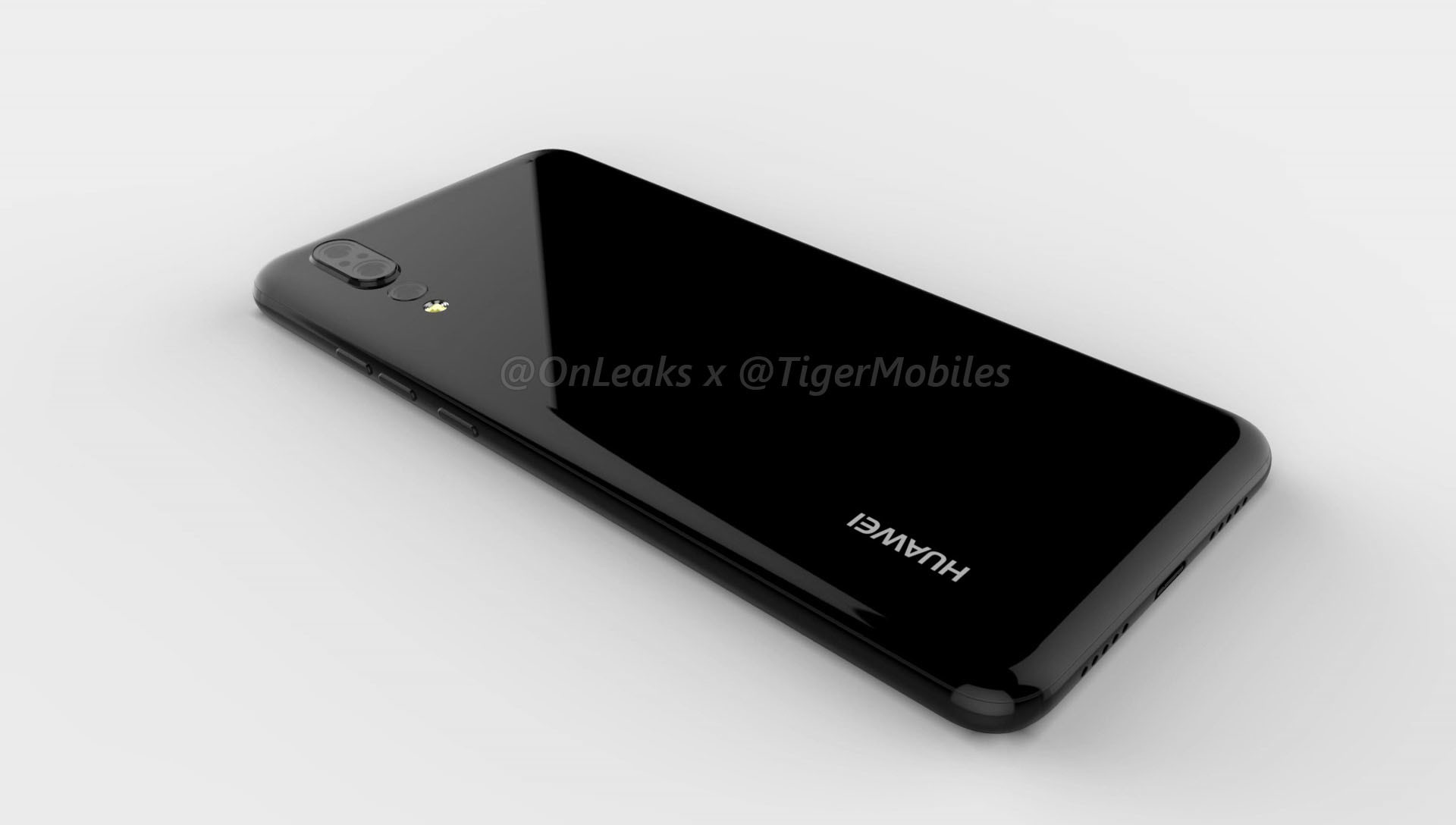 Trendy Techz Huawei P20 CAD Renders