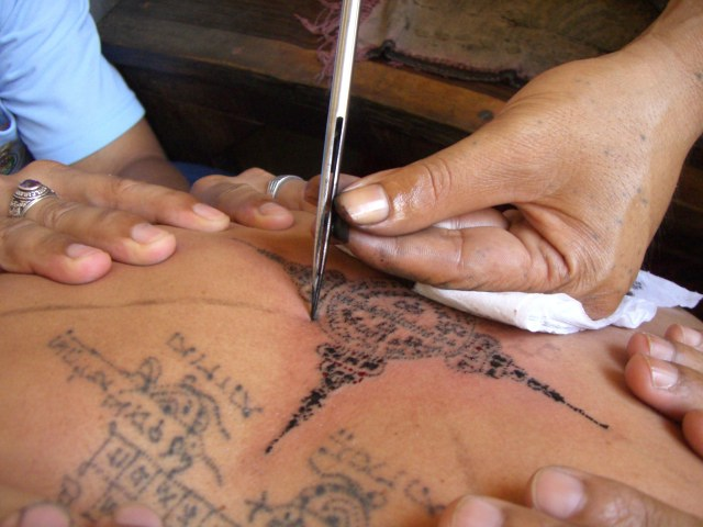 The History of the Sak Yant Tattoo in Thailand