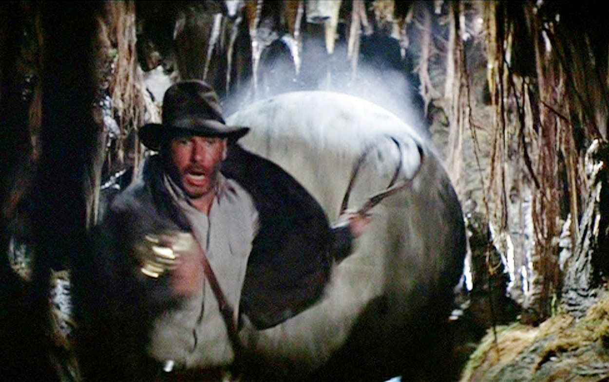 Image result for raiders of the lost ark boulder