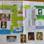 Hermitage 1st floor map