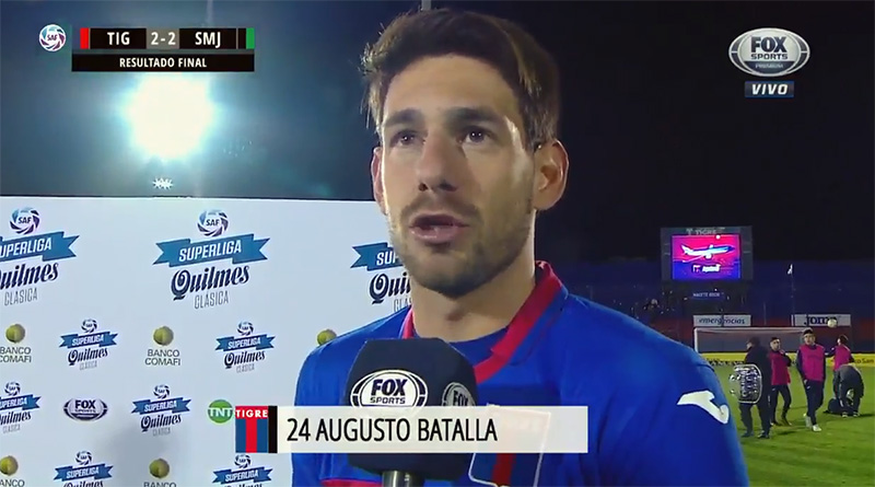 "Augusto Batalla: ""Estamos teniendo mucha mala pata"""