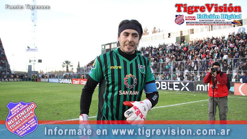 """Luis Ardente: """"Me debo a San Martín pero mi club es Tigre. Soy fanático. Mi sueño es volver para retirarme en el club"""""""