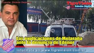 Las explicaciones de Melaraña ante la denuncia de Edenor