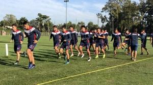 Entrenamiento y concentrados para enfrentar a Colón