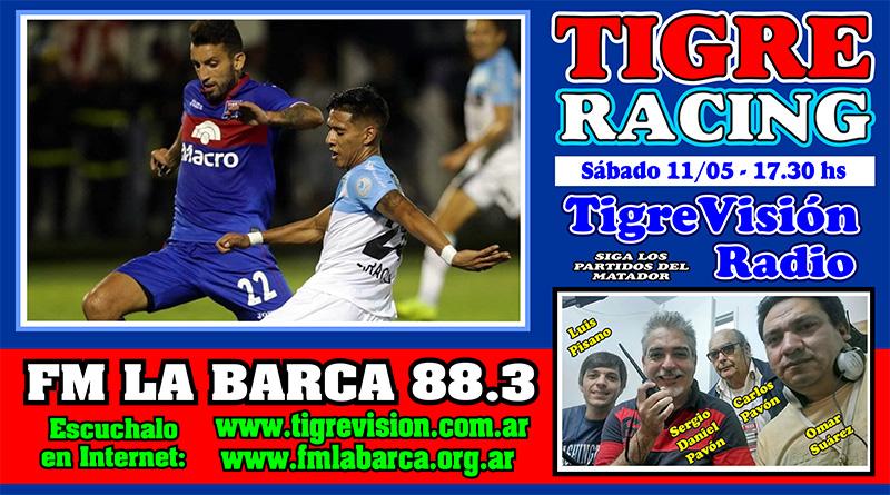 Tigre y Racing abren los cuartos