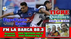 Tigre recibe a Quilmes en el arranque de la Primera Nacional