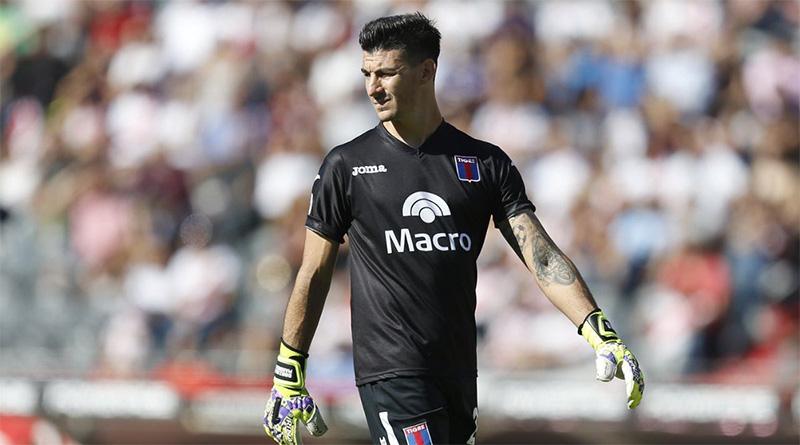 """Gonzalo Marinelli: """"Estoy muy agradecido con Tigre, que me dio la chance de jugar"""""""