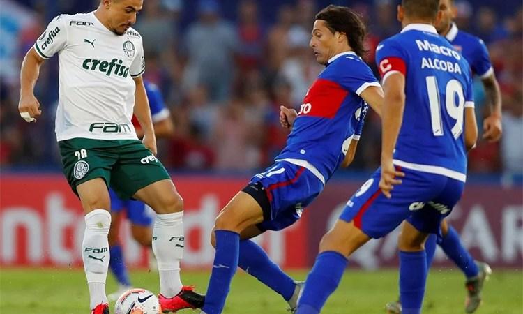 Tigre cayó ante Palmeiras