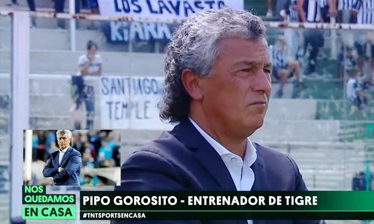 Néstor Gorosito en TNT Sports