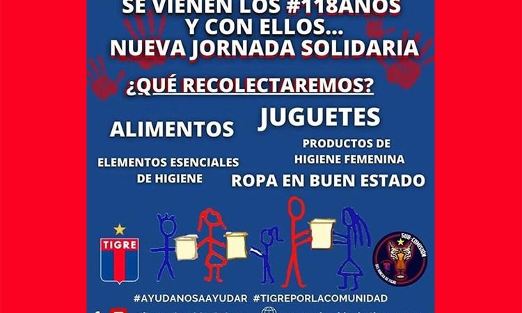 Acción solidaria en el aniversario Matador
