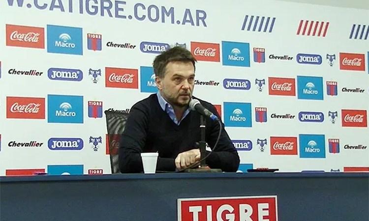 Ezequiel Melaraña y la vuelta de Tigre a los entrenamientos
